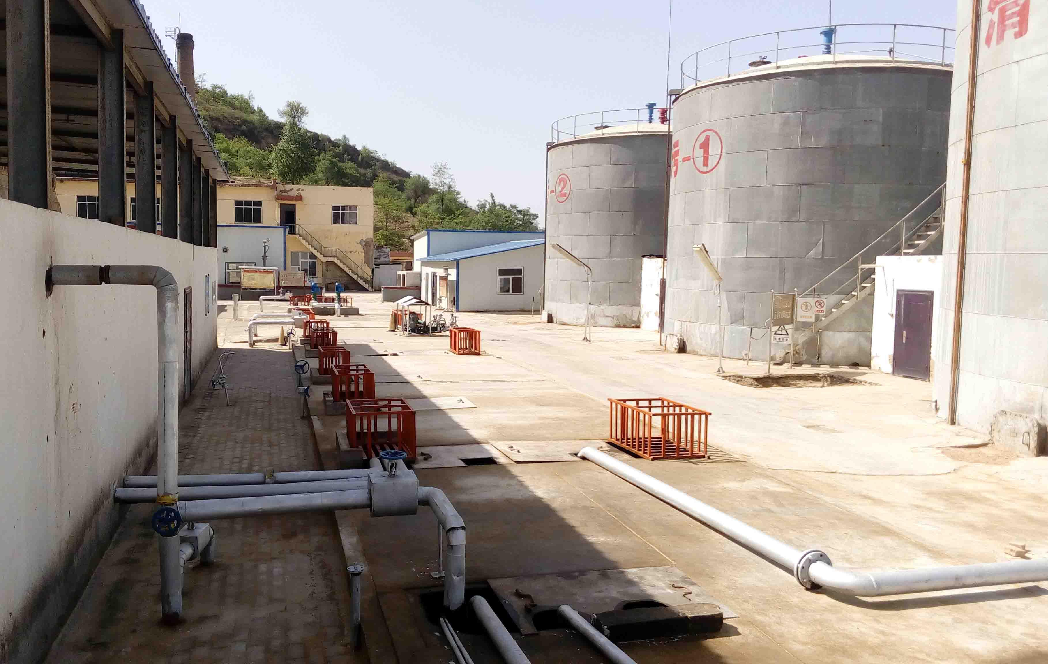 延长油田南泥湾采油厂冯坪联合站含油JBO竞博下载运营维护